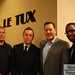 Let Tux Shop Grand Opening- Jesse Mills, Rik Ducar, Richard Cook