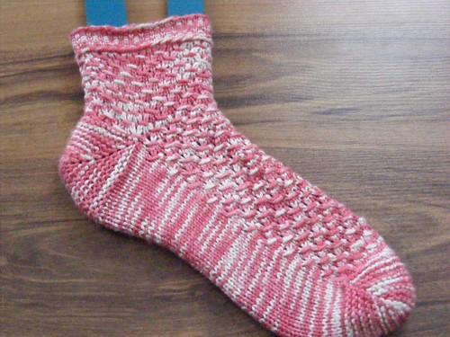Om shanti sock 1