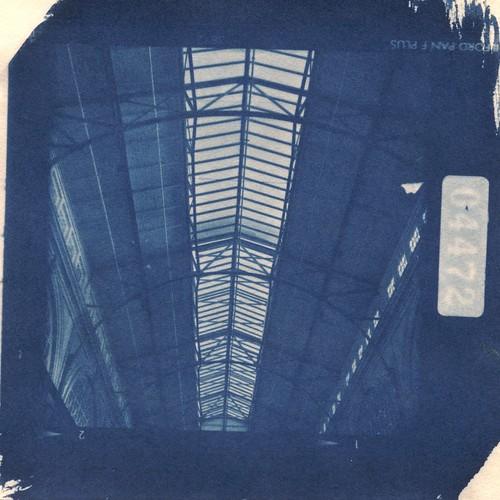 Ferry Building Roof Cyanotype