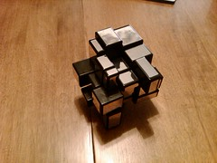 Rubik's Mirror Blocks Cube Scrambled