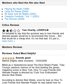 LoveFilm mobile reviews