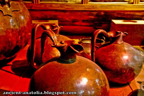 Phrygian Bronze Pots