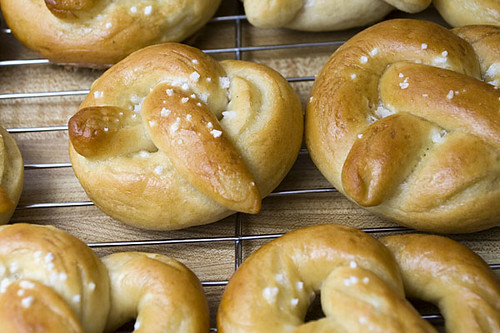 114:365 Soft pretzels