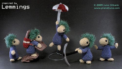 Wooly Lemmings!