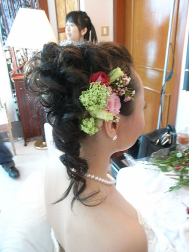 MING WORKSHOP 拍攝的 bridal make-up。