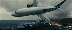 avión al suelo