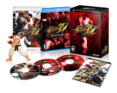 Street Fighter IV Collector PS3
