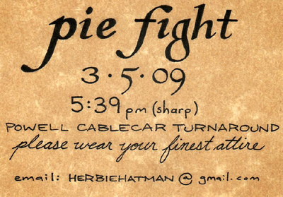 Pie Fight in Formal Attire