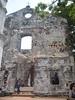 Remains of a dutch colonial church