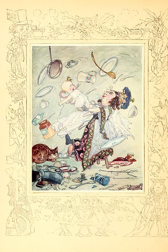 026-Charles Folkard- Songs from Alice in wonderland and Through the looking-glass 1921