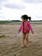 Alnmouth 2009 63 (cautious_boy) Tags: sea beach alnmouth sandcastles