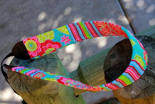 Pink & Green strap