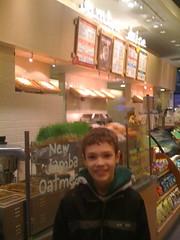 Nate at Jamba Juice