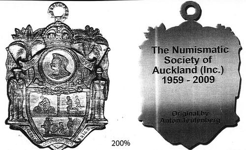 Auckland BIRTHDAY MEDAL