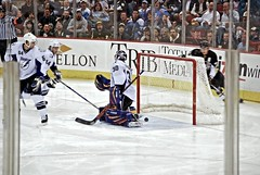Geno goal (Dave DiCello) Tags: net ice hockey club tampa nhl bay penguins sticks goalie nikon pittsburgh zoom arena national stick puck lightning win pens nikkor crease league stanleycup mellon igloo malkin pads 200m geno evgeni mellonarena civicarena sidneycrosby pittsburghpenguins d40 stanleycupchamps marcandrefleury nationalhockeyleague stanleycupchampions evgenimalkin theigloo d40x maximetalbot tylerkennedy pittsburghpens maxtalbot consolenergycenter 2009stanleycupchampions pittsburghpenguinsstanleycupchampionspictures civicarenapittsburghpa sidandgeno penguinhockeyteam mellonarenapittsburgh evad310 davedicello pittsurghpenguins stanleycuprings penguinsstanleycupring maxtalbotgame7