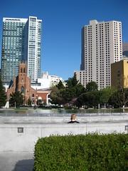 SF Sunday Morning (theartofmegan) Tags: sf sanfrancisco gardens architecture yerba frisco buena theartofmegan meganlacore