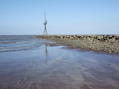 Rock Groyne at Minehead Harbour (Hair Bear) Tags: sea sand rocks harbour somerset groyne minehead