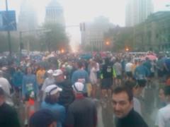 Marathon start @ st louis
