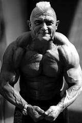 Hardcore (Korim S. Loup) Tags: portrait essen noiretblanc bodybuilding mohawk fibo virela gardela virela2 gardela2 virela3 virela4 virela5 virela6 virela7 virela8 virela9 virela10 fibo2009
