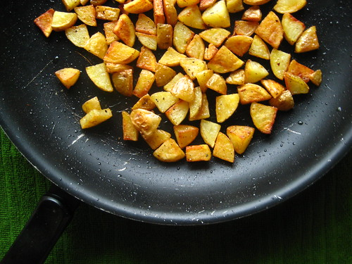 crispy home fries!
