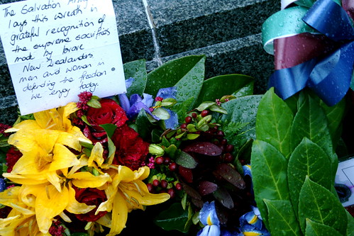 Wednesday: Anzac Flowers