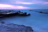 Turimetta Blue Hour (-yury-) Tags: ocean sea beach water sunrise dawn rocks sydney australia nsw abigfave ultimateshot turimetta