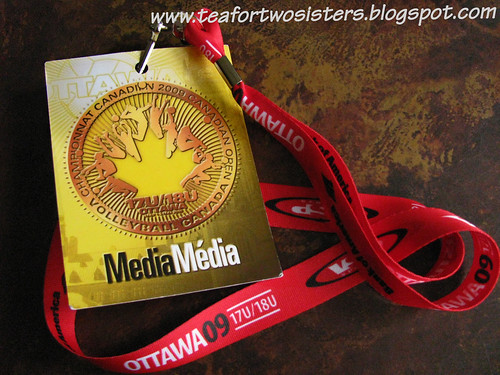 Christine's First Media Pass