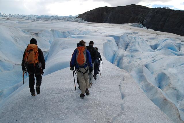 Trekking, Torres del Paine, Patagonia Chile
