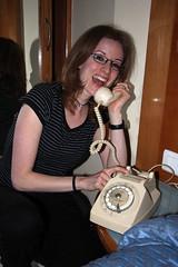 Old Skool Phone (MykReeve) Tags: girl katrina hotel kat phone room telephone morocco fez fes المملكةالمغربية المغرب فاس geo:lat=34036337 geo:lon=4996709