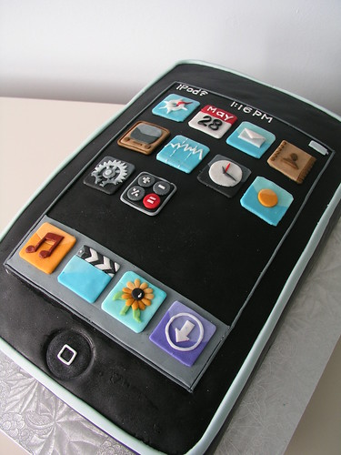 16th birthday cake for boys. 16th Birthday iTouch Cake