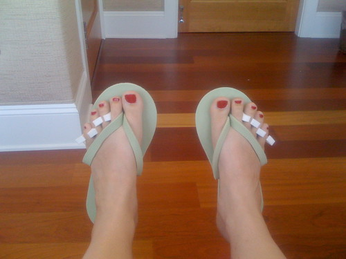 Pedicure, check.