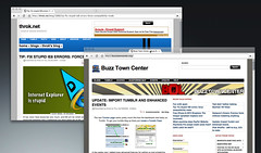 Chromium dragging out a tab