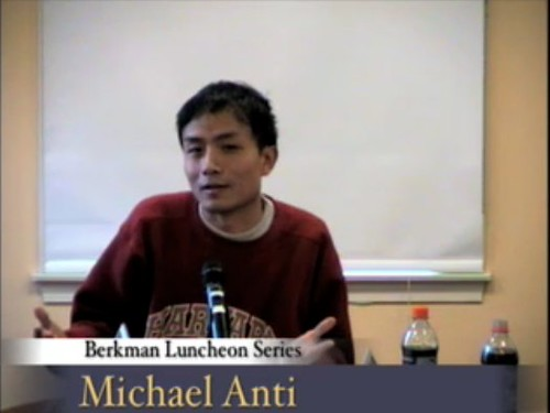 New York Times' Michael Anti on Blogging in China - Video