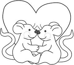 Ratos/Mouses ( Reino J Cheguei ) Tags: pattern riscos moldes reinojcheguei