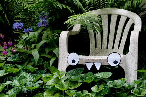 The secret lives of patio chairs
