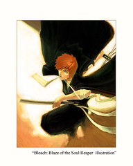 Bleach: Blaze of the Soul Reaper illustration (simpsonflickr) Tags: original wallpaper portrait color art illustration digital photoshop painting print poster sketch artwork media colorful paint artist comic graphic chad drawing originalart contemporaryart originalpainting modernart fineart traditionalart manga bleach painter comicbook posters prints illo medium illustrator rukia concept draw etsy deviantart simpson limitededition reproduction ~ paints ichigo kon shonen conceptart artprint remindsmeof renji shonenjump uryu onlineart orihime shinigami shueisha similarto canvasart betterthan ichigokurosaki canvasprints uryuishida rukiakuchiki orihimeinoue zanpaktou artbistro shnen garysimpson yasutorachadsado rawmanga titikubo shogakukanmangaaward