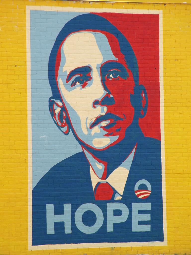 Houston Texas Old  Sign 2009  Obama  2009 P5120725