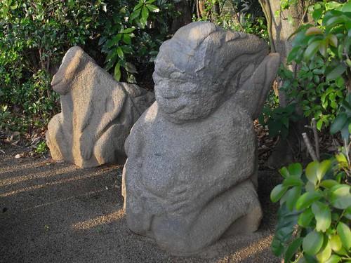 猿石(吉備姫王墓)@明日香村