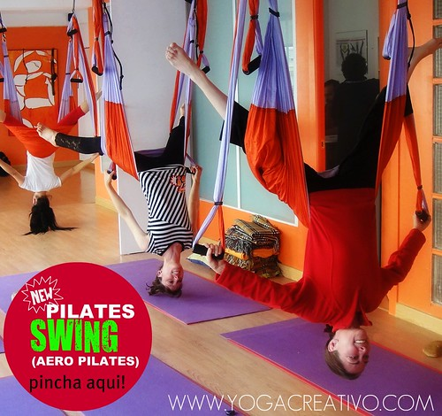 YOGA SWING y Aero Pilates en columpio, Madrid
