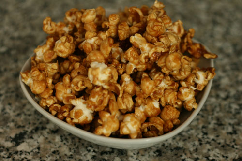 Making Caramel Corn (An Easy Nut-Free Recipe)