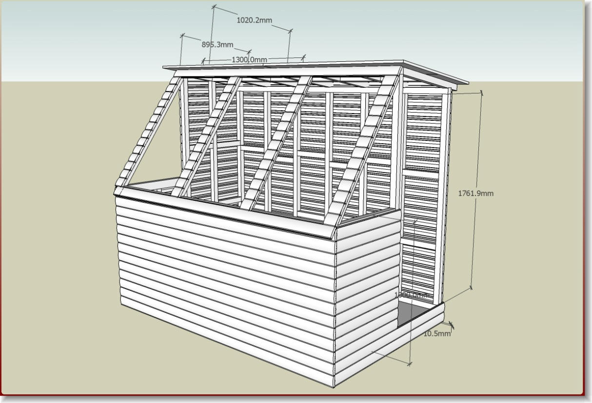 Potting Shed Build, Plans and have a few questions