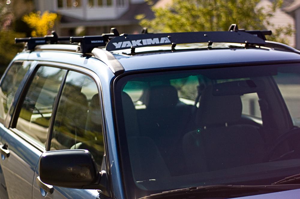 Yakima Fairing Fitting Over Moonroof Page 2 Subaru
