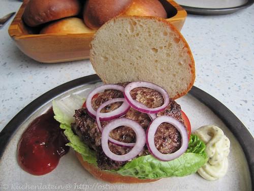 Hamburger Brötchen - Hamelman 003