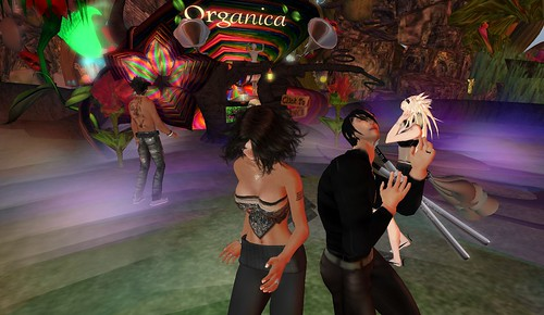 raftwet, xavier at dj barbs kurka party at organica