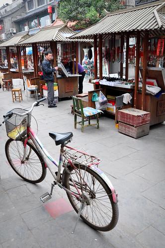 Bicycleinfrontofstalls