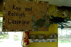 Raleigh and Kay Lasseigne, Oyster Fishers