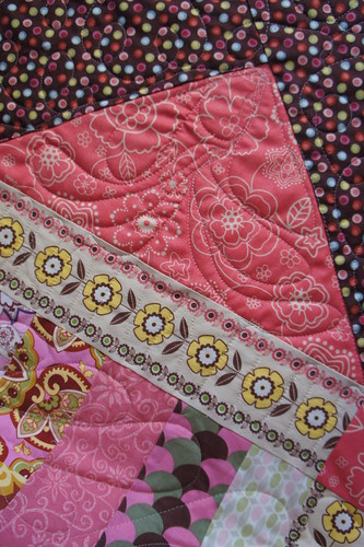 Neapolitan Dreams free motion quilting