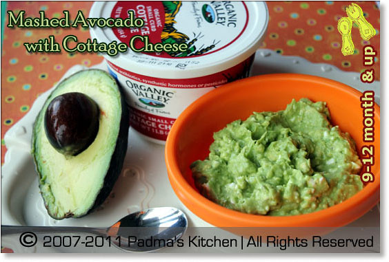 Mashed Avocado And Cottage Cheese