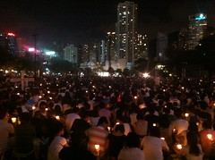 Candlelight vigil to remember Tienanmen Square