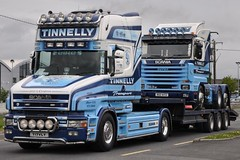 Tinnelly Scania T164L T 17 VLY (truck_photos) Tags: athlone fullofthepipe irishtruckshow